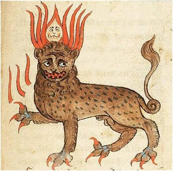 A medieval beast